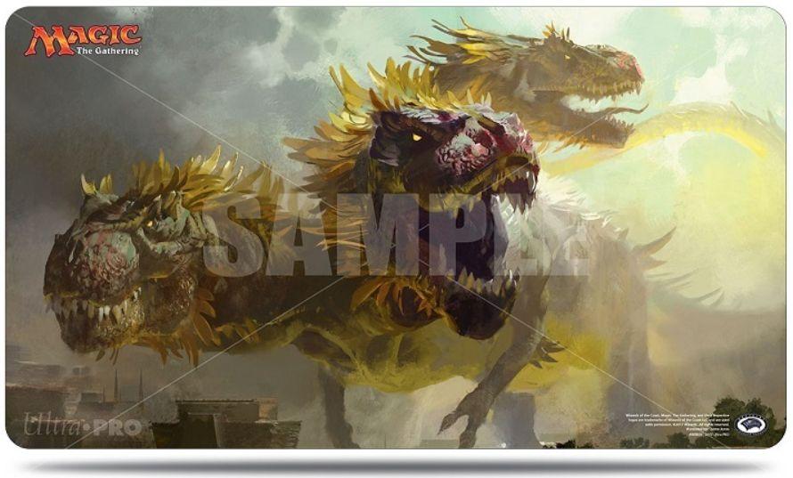 3つ首恐竜(プレイマット:イクサランの相克 サプライ)