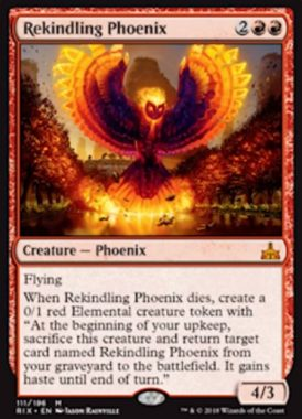 Rekindling Phoenix(イクサランの相克)