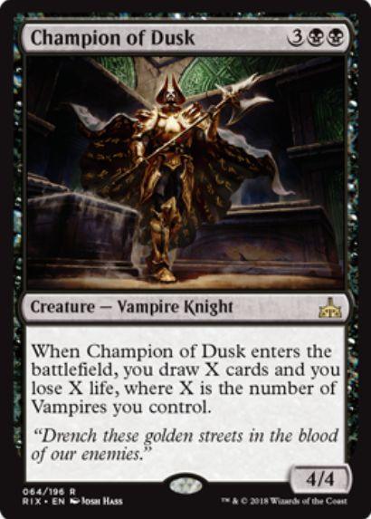Champion of Dusk(イクサランの相克)