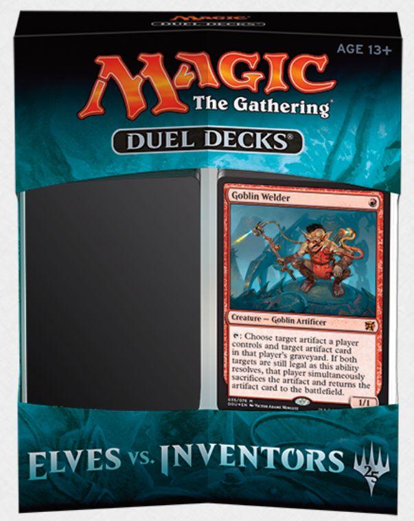 デュエルデッキ「エルフvs発明者」の製品パッケージが公開!収録カードの情報も一部公開!
