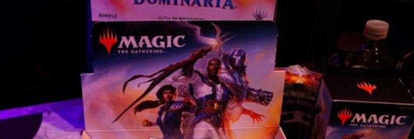 MTG「ドミナリア」のボックス&パック画像が非公式スポイラーで公開!パックにはテフェリーやカーン、ヤヤ・バラードと思われるキャラクターの姿が!