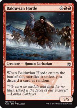 バルデュヴィアの大軍(Balduvian Horde)マスターズ25
