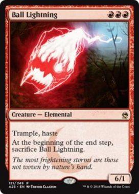 ボール・ライトニング(Ball Lightning)マスターズ25