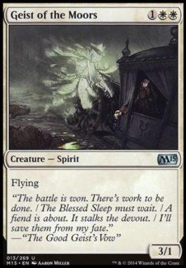 原野の霊(Geist of the Moors)基本セット2015