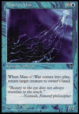 大クラゲ(Man-o'-War)ビジョンズ