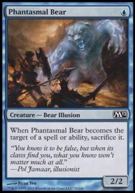 幻影の熊(Phantasmal Bear)基本セット2012