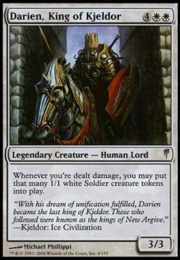 キイェルドーの王、ダリアン(Darien, King of Kjeldor)コールドスナップ