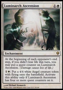 光輝王の昇天(Luminarch Ascension)ゼンディカー