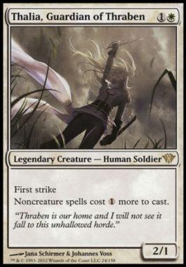 スレイベンの守護者、サリア(Thalia, Guardian of Thraben)闇の隆盛