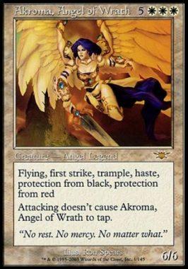 怒りの天使アクローマ(Akroma, Angel of Wrath)レギオン