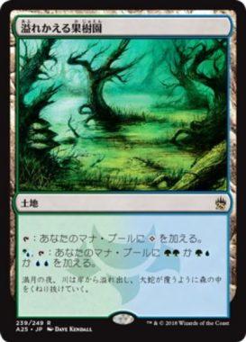 溢れかえる果樹園(Flooded Grove)マスターズ25