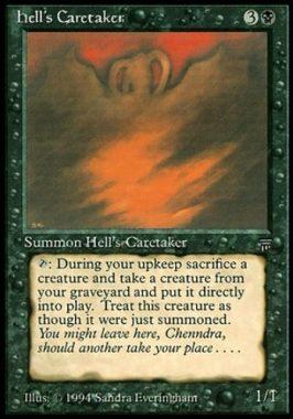 地獄の番人(Hell's Caretaker)レジェンズ