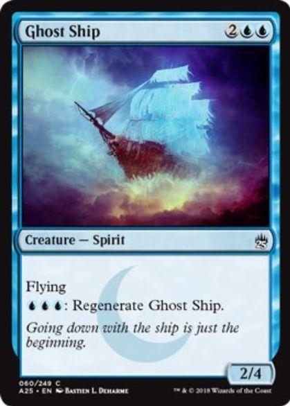 【マスターズ25】幽霊船(Ghost Ship)がザ・ダークより新規イラストで再録決定!