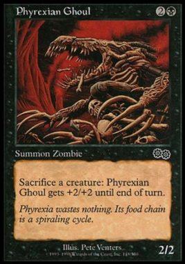 ファイレクシアの食屍鬼(Phyrexian Ghoul)ウルザズ・サーガ