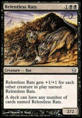 執拗なネズミ(Relentless Rats)フィフス・ドーン
