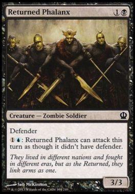 蘇りし者の密集軍(Returned Phalanx)テーロス