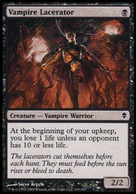 吸血鬼の裂断者(Vampire Lacerator)ゼンディカー