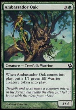 大使の樫(Ambassador Oak)モーニングタイド