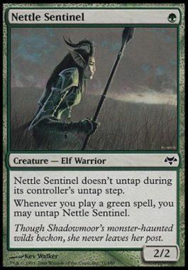 イラクサの歩哨(Nettle Sentinel)イーブンタイド