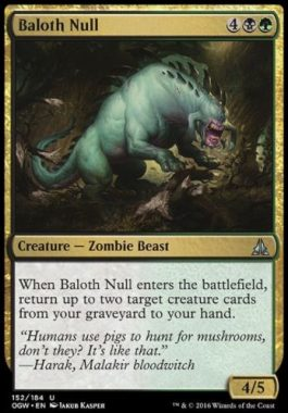 ベイロスの虚身(Baloth Null)ゲートウォッチの誓い