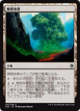 無限地帯(Myriad Landscape)マスターズ25
