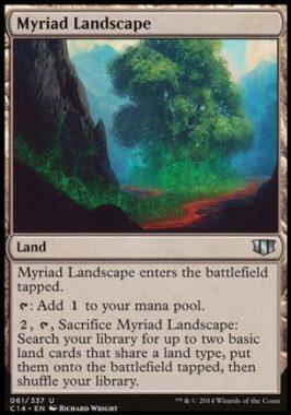 無限地帯(Myriad Landscape)統率者2014