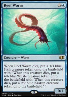 浅瀬蟲(Reef Worm)統率者2014
