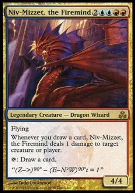 火想者ニヴ=ミゼット(Niv-Mizzet, the Firemind)ギルドパクト