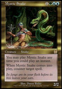 神秘の蛇(Mystic Snake)アポカリプス