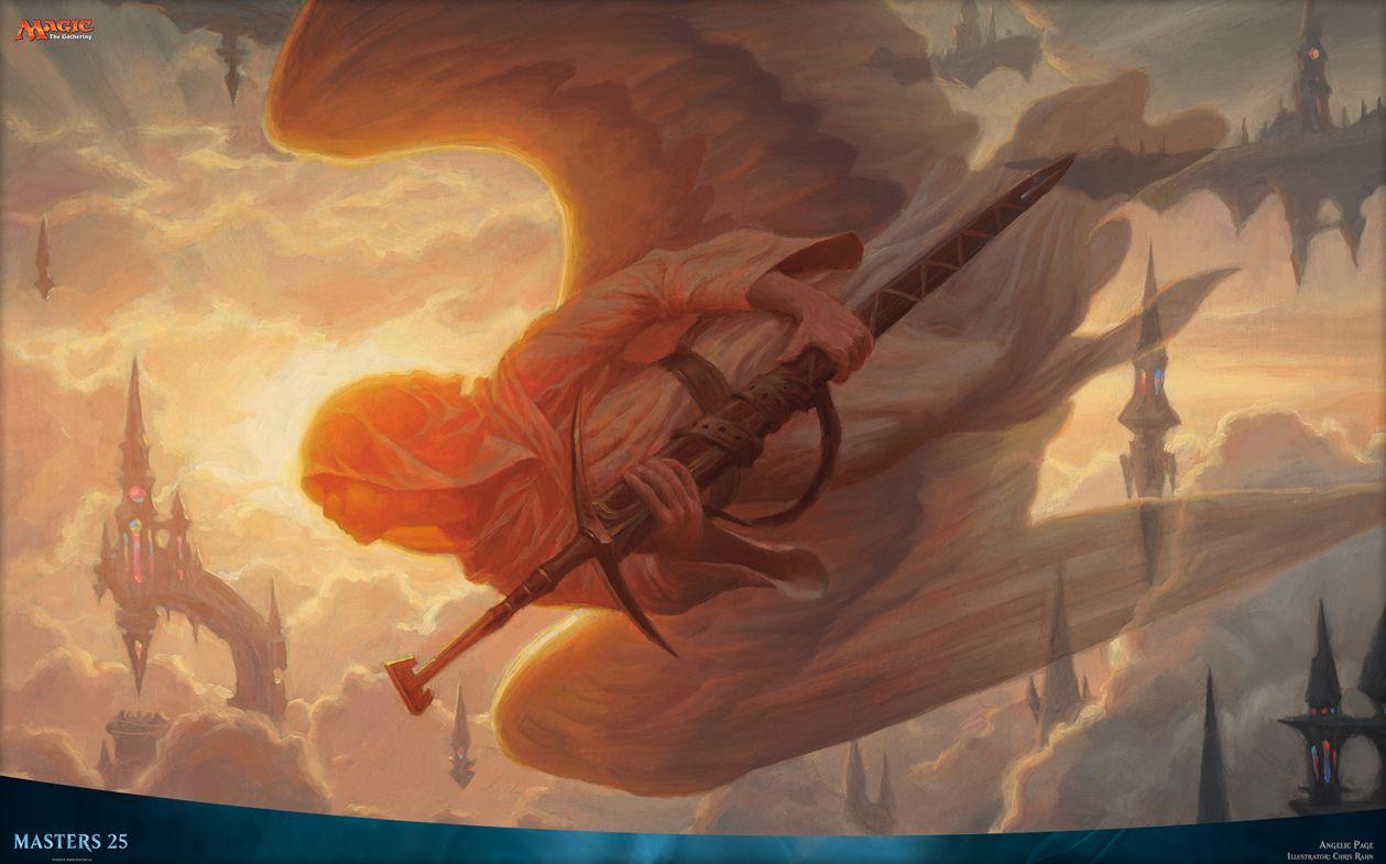 天使の従者(Angelic Page)マスターズ25壁紙