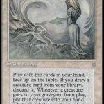 永劫の輪廻(Enduring Renewal)MTG女性カード