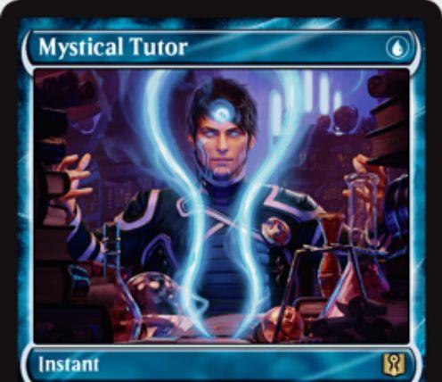 神秘の教示者(Mystical Tutor)が「Signature Spellbook: Jace」にジェイスをイメージした新規アートで再録決定!
