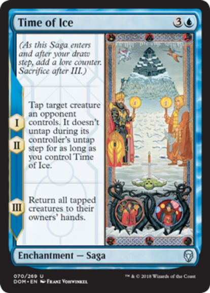 氷河期(Time of Ice)ドミナリア英語版