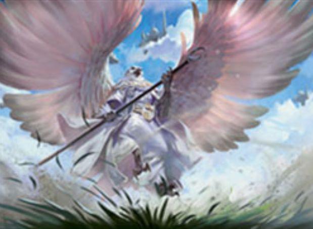 【ドミナリア】祖神の使徒、テシャール(Teshar, Ancestor's Apostle)が公開!4マナ2/2「飛行」&歴史的な呪文を唱えるたびに墓地から3マナ以下のクリーチャーをリアニメイトする伝説の鳥クレリック!