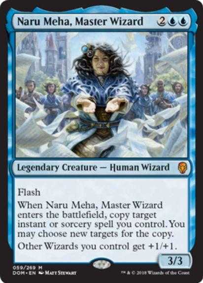 練達の魔術師、ナル・メハ(Naru Meha, Master Wizard)ドミナリア・英語版