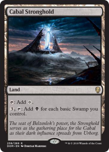 Cabal Stronghold(ドミナリア)英語版