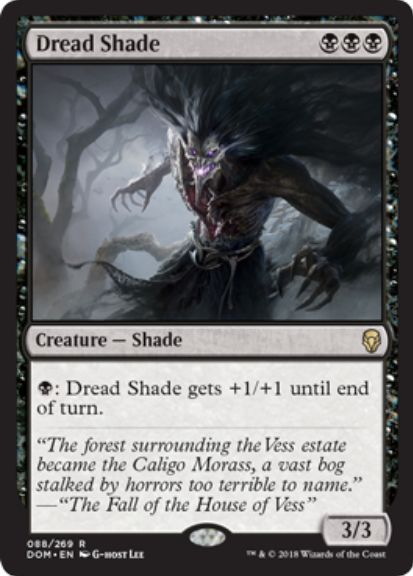 Dread Shade(ドミナリア)英語版