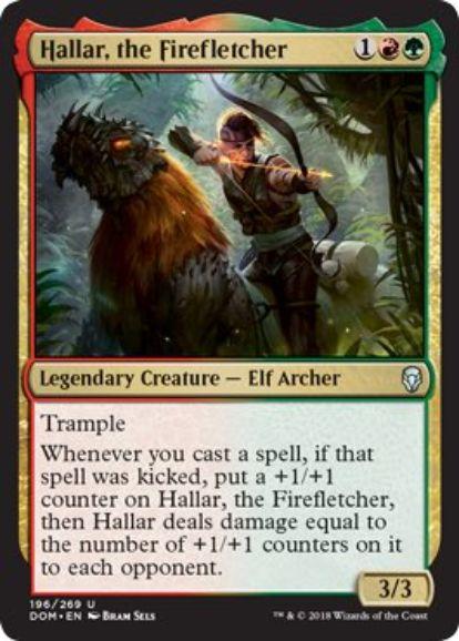 炎矢師、ハラー(Hallar, the Firefletcher)ドミナリア・英語版