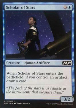 Scholar of Stars(新規カード)基本セット2019