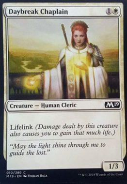 Daybreak Chaplain(新規カード)基本セット2019