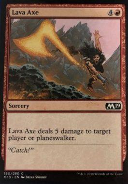 Lava Axe(溶岩の斧)基本セット2019
