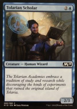 Tolarian Scholar(トレイリアの学者)基本セット2019