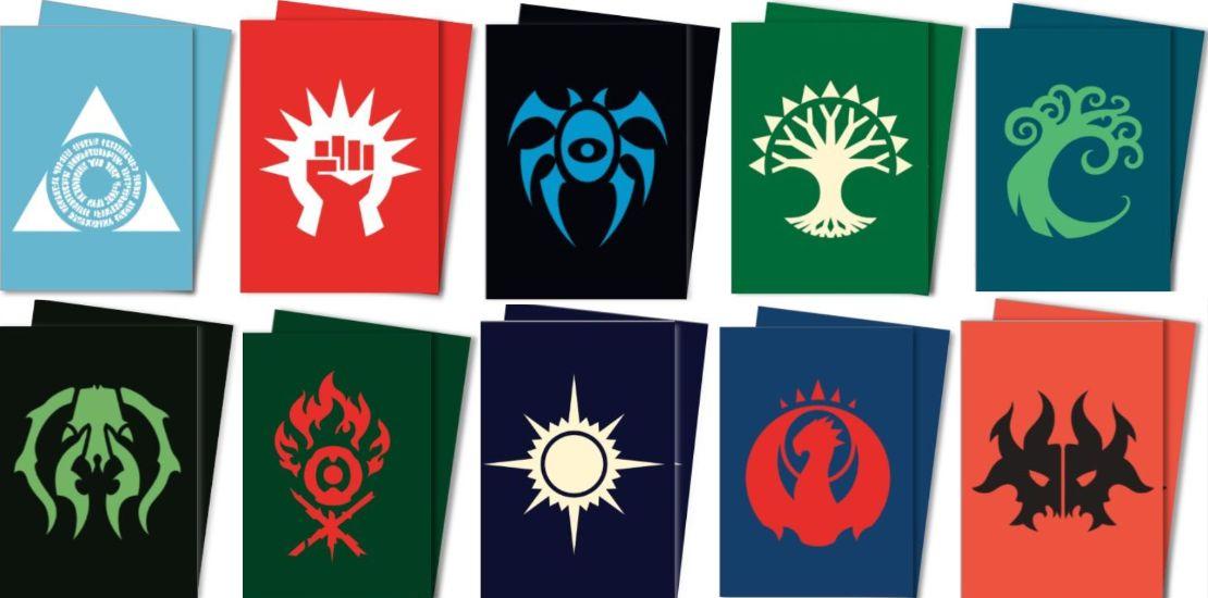【ラヴニカのギルド】10種のギルドのシンボルを使用した公式スリーブが発売決定!