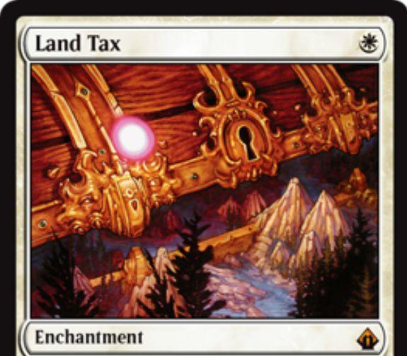 【バトルボンド】土地税(Land Tax)が神話レア枠&新規イラストで再録決定!