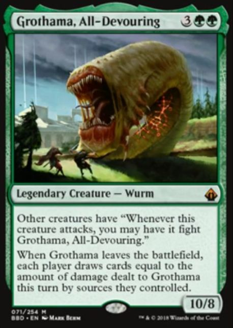 Grothama, All-Devour(バトルボンド)