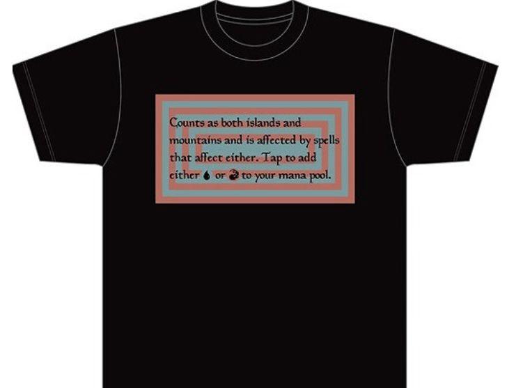デュアルランドTシャツ「Volcanic Island」