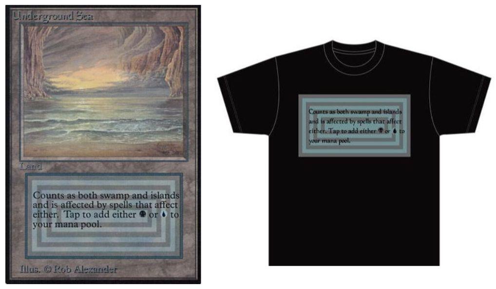 デュアルランドTシャツ「Underground Sea」&「Volcanic Island」が発売決定!人気のデュアラン「アンシー」&「ボルカ」がTシャツに!