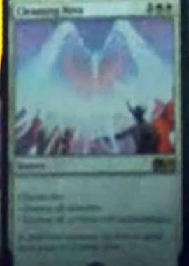 Cleansing Nova(新規カード)