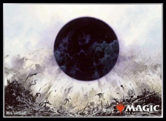 【スリーブ】滅び(Damnation)のMTG公式スリーブ