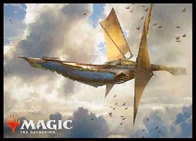 【スリーブ】ウェザーライト(ドミナリア)のMTG公式スリーブがエンスカイより発売!伝説の「機体」アーティファクトの美麗アートがスリーブ化!